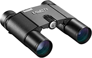 Bushnell Legend Ultra HD Compact Folding Roof Prism Binoculars, 10 x 25-mm, Black