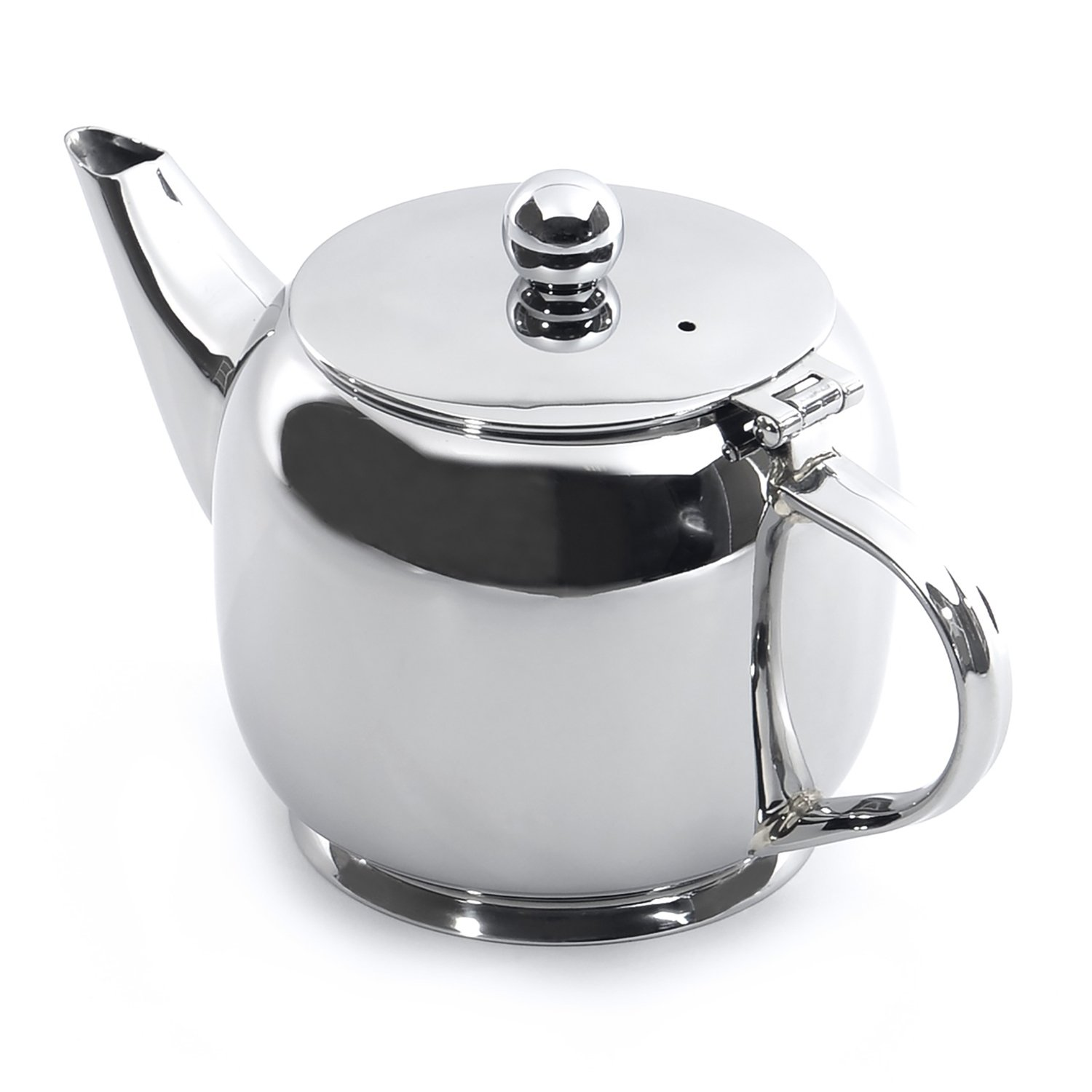 BergHOFF Hotel Stainless Steel Teapot, 0.7 quart, Silver