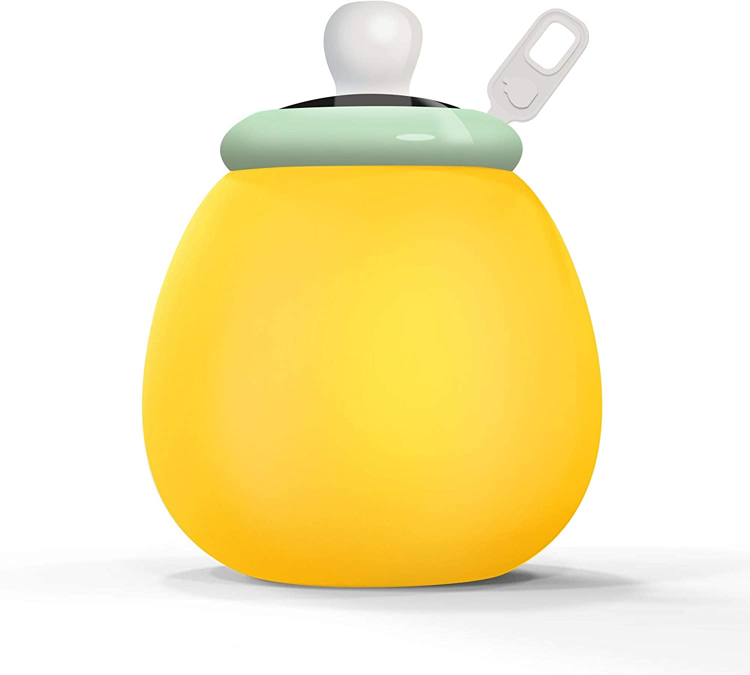 Night Lights for Kids Soft Silicone Baby Night Light with Touch Sensor, Bedside Lamp Adjustable Warm/Cool LED Baby Nursery Lamp, Portable and Rechargeable Bedroom Lights Green