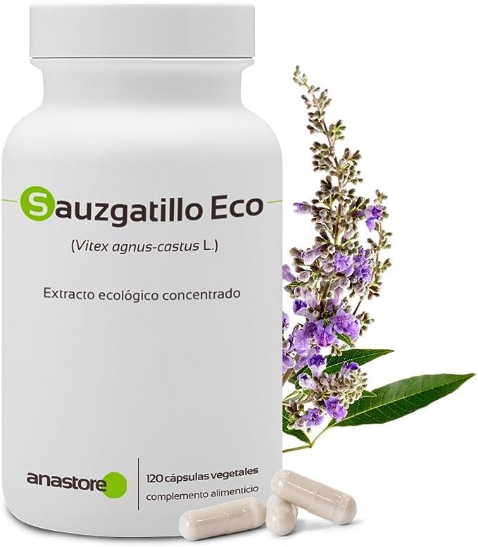 Sauzgatillo | Agnus Castux Vitex | 120 capsulas: Amazon.es: Salud y cuidado personal