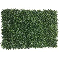 Badshah Craftsvilla® Plastic Vertical Garden Mat with Artificial leaves for vertical gardening, covering roof, cover wall, garden decor, home decoration (Pack of 1)