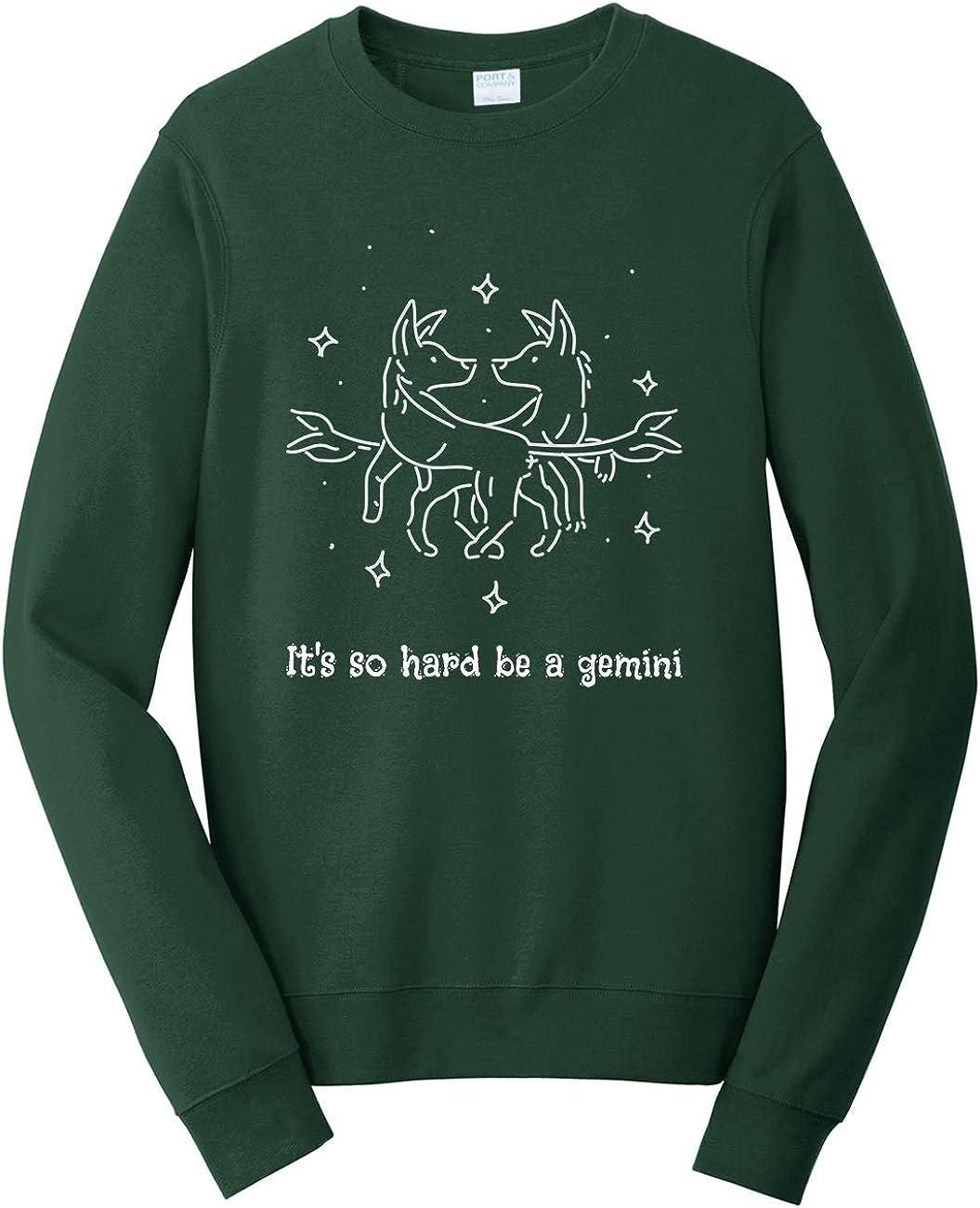 Tenacitee Unisex Its so Hard to be a Gemini Sweatshirt