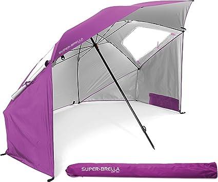 a291190849b8 Sport-Brella Super-Brella - Portable Sun & Weather Shelter, Fuchsia ...
