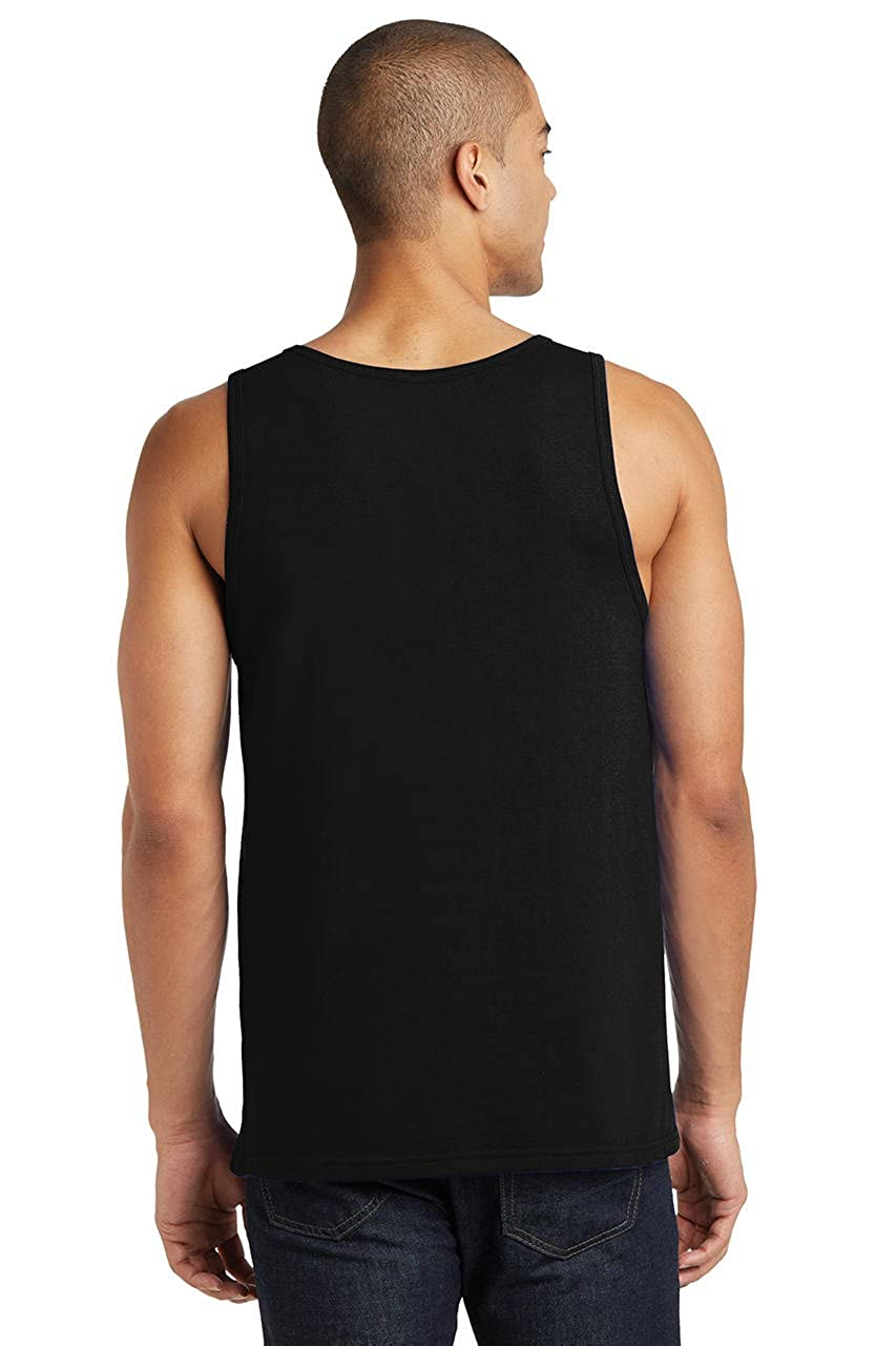 Comical Shirt Mens Peaceful As Fuck Tank Top
