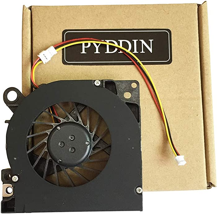 PYDDIN New Laptop CPU Cooling Fan Cooler for Dell Inspiron 1525 1526 1545 1546 Dell Latitude D620 D630 D630c D631 Series 0YT944 PP18L PP29L 3-pin