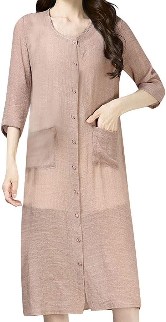 Getadate Women's Linen...