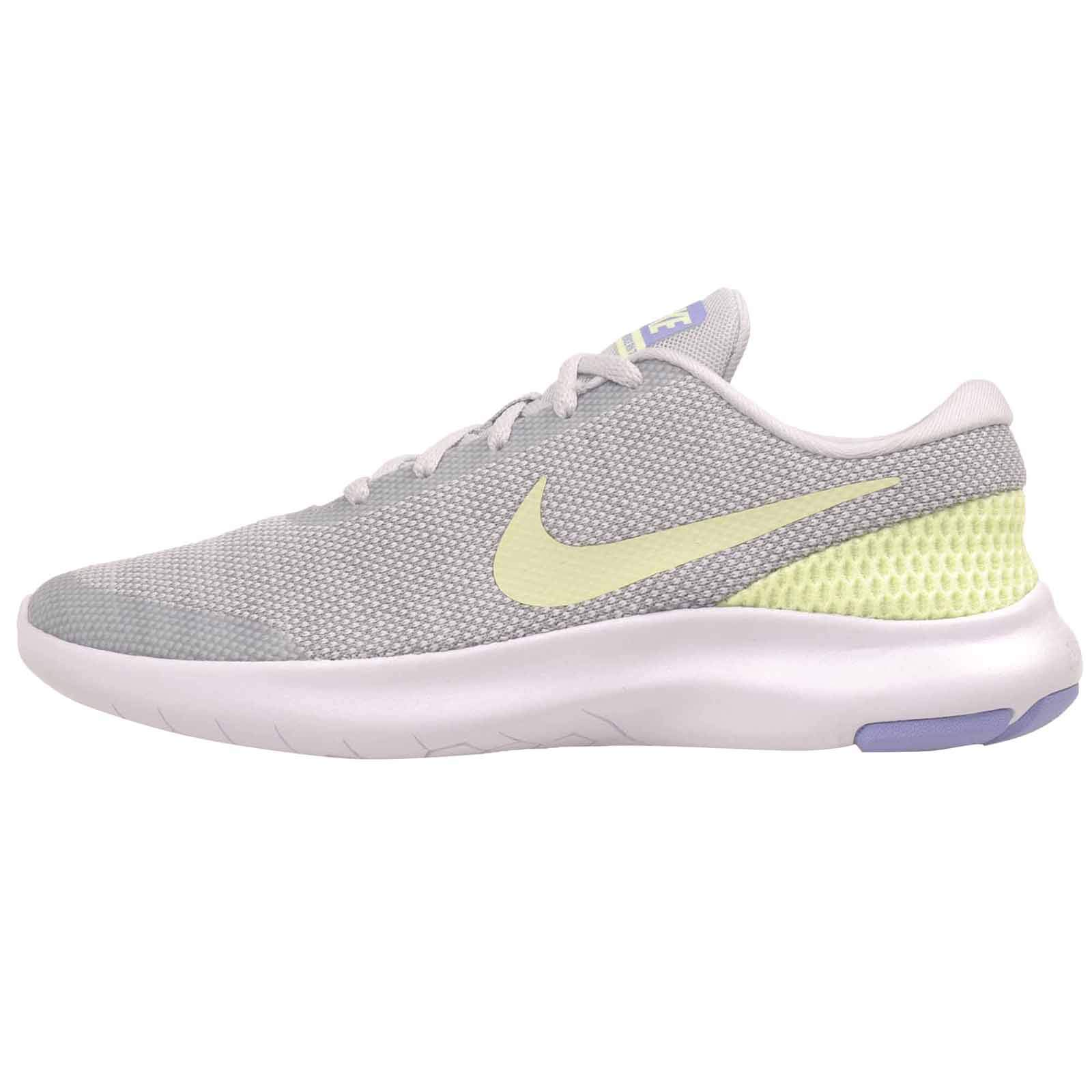 Nike Women's Flex Experience 7 Running Shoe (8, Pure PlatinumBarely Volt Wolf Grey)