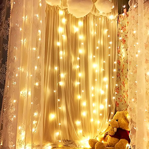 Lights & Lighting Strict 300 Led Window Curtain Lights String Fairy Lamp Wedding Party Decor Striking Christmas Party Valentines Holiday Curtain Decor