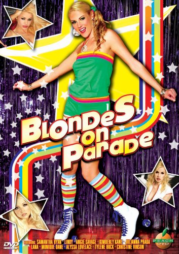 Blondes On Parade by Peach DVD