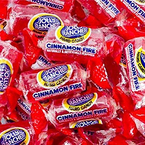 Jolly Rancher Cinnamon Fire Candy 2 Lb. Bulk Bag]()