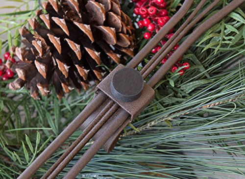 VILLAGE LIGHTING COMPANY Village Lighting Snowflake Adjustable Wreath Hanger by VILLAGE LIGHTING COMPANY (Image #4)
