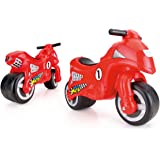 184d633309a Dolu My First Motorbike - Balance Push Along Bike with Rubber Wheels -  Lightweight Model…