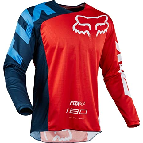 fc4967400c8 Amazon.com: Fox Racing 180 Race Men's Off-Road Motorcycle Jersey -  Red/X-Large: Fox Racing: Automotive