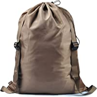 Laundry Backpack for Laundromat in College or Apartments, Laundry Bag with Shoulder Straps,Laundry Basket, Laundry Hamper