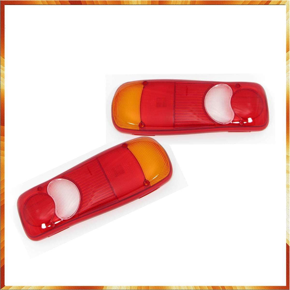 2x Lens Glass Rear Light for Cabstar T5