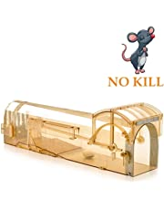 iiwey Humane Mouse Trap, 32 cm Enlarged Smart Mouse and Rodent Trap, No Kill The Mice, Pets & Children Friendly, Like a Real Mouse Home