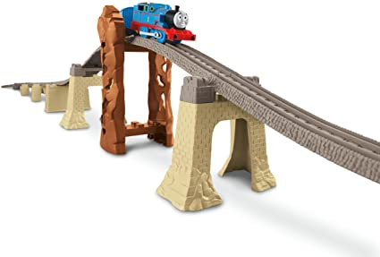 Thomas Train Trackmaster Bridge Expansion Track Pack With Risers FREE Shipping!