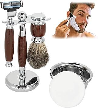 5 EN 1 Afeitado Set Afeitadora Durable para Hombres Tool Mango de ...