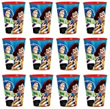 Disney Toy Story Reusable Cups (12x) ~ Birthday Party Supplies Plastic Favors