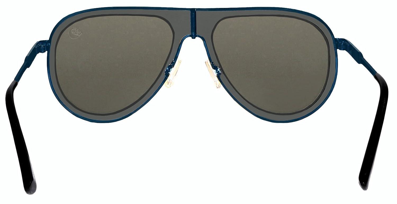 ee4185cb7809 Amazon.com: Margaritaville Retro Aviator Polarized Sunglasses, Blue 57 mm:  Clothing