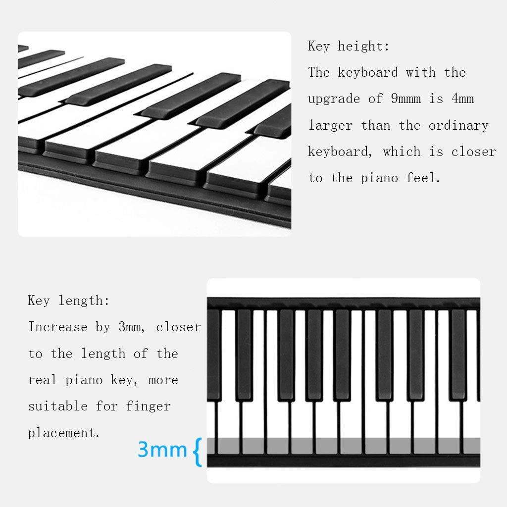 Pianos Teclados Laminado a Mano 88 Teclas Teclado Suave Teclado ...