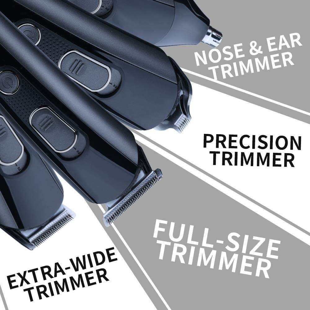 4 In 1 Multi-Functional Grooming Kit, Cordless Mens Hair Trimmer & Beard Trimmer Kit