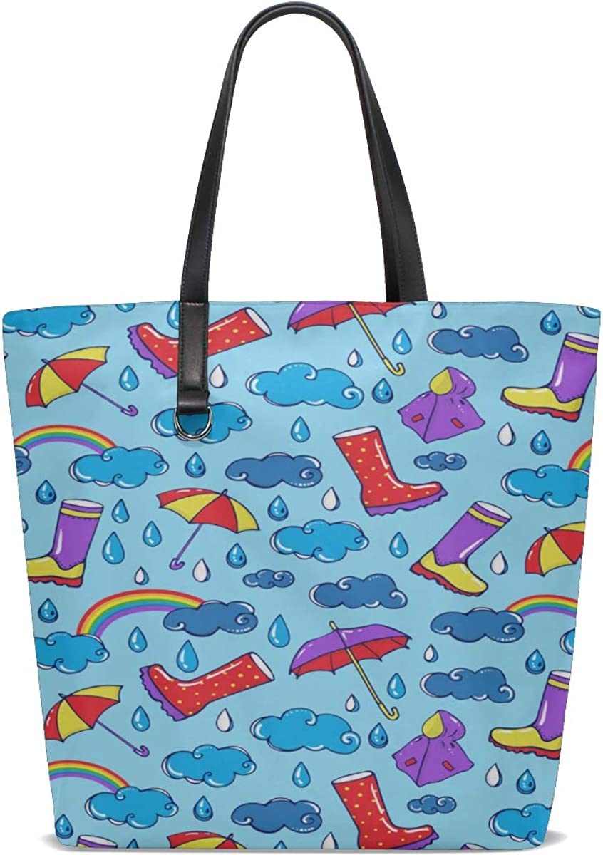 Large Tote Bag For Women Handle Satchel Men Leather Shoulder Bag Purse Messenger Bags Tote Gift Bags Cartoon Cute Romantic Funny Raincoat Printing Bag Shoulder For Men