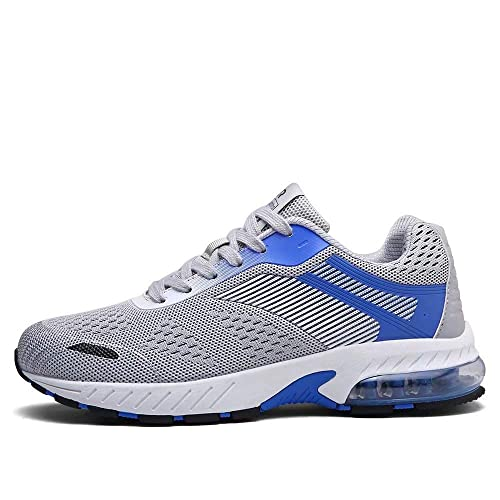 9fb1f6549b Fushiton Mens Womens Trainers Air Cushion Running Shoes Fashion Tennis  Walking Training Sport Sneakers