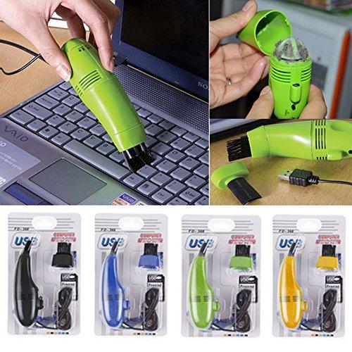USB Vacuum Cleaner For Your Laptop Desktop (Green) - 1
