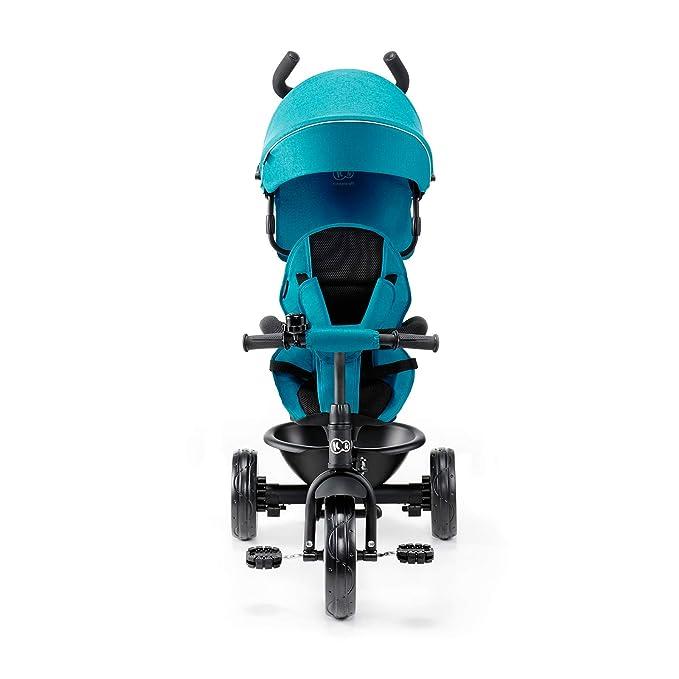 Kinderkraft Aston Triciclo Bebé Plegable Trike Bicicleta para Niños azul