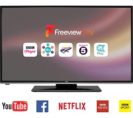 JVC 49 inch Full HD Smart LED TV with Freeview Play and