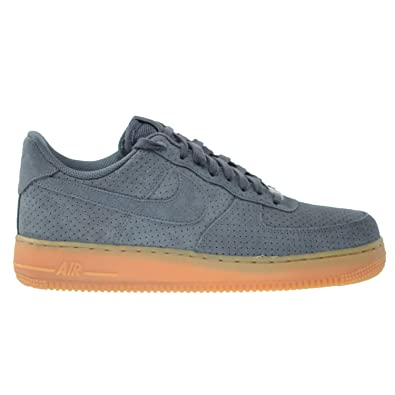 on sale e80fb f250a Nike Air Force 1  07 Suede Women s Shoes Dark Grey 749263-001 (10