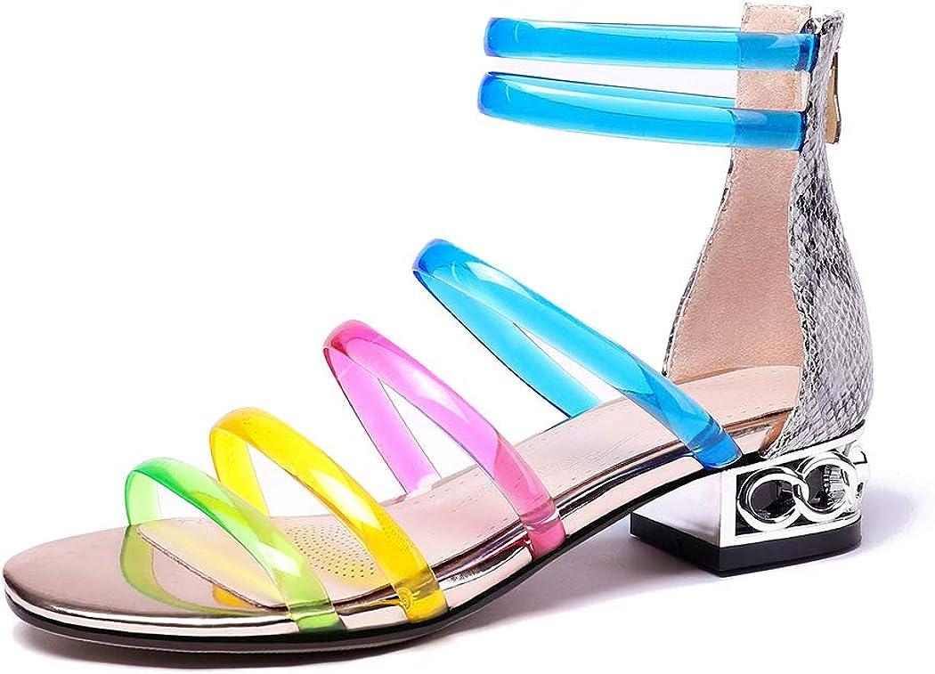 Amazon.com | Multi Colored Sandals for