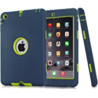 S-Smile Funda de armadura híbrida para iPad Mini y iPad Mini 2, con Retina Display,  iPad Mini 3; en conjunto con el protector de pantalla y el lápiz táctil