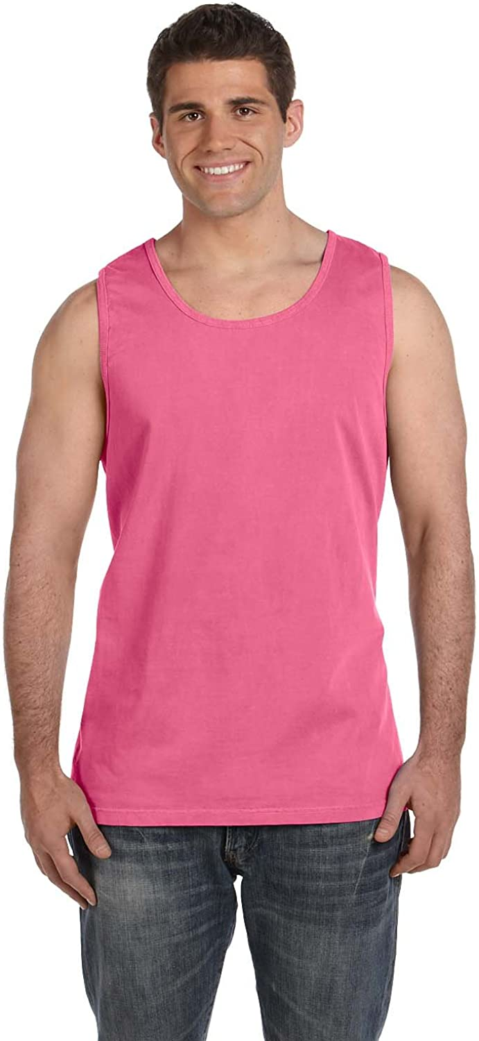 Comfort Colors C9360 Ringspun Garment Dyed Tank. - CRUNCHBERRY - M