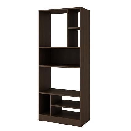 BRV BE 840-49 Librero Decorativo con Cubos y Repisas, Mueble para ...
