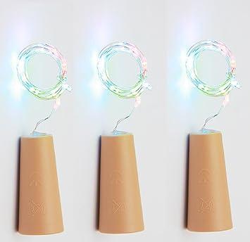 Gzqes Mikro Led Licht Auf Korken Form F Uuml R Weinflasche 75 Nbsp