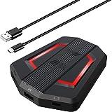 Andoer Adaptador de teclado e mouse HXSJ P6 Substituição do conversor de mouse portátil para N-Switch PS4 PS3 XBox One 360 