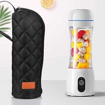 Portable 400ml USB Electric Fruit Juicer Smoothie Maker Blender Shaker Bottle