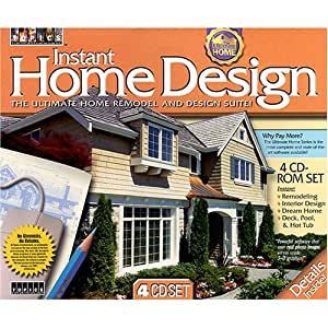 instant home design software