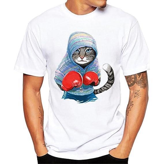 Damark ™ Camisetas Hombre, Impresión de la Moda Camisetas Hombre Manga Corta Camisetas Hombre Originals