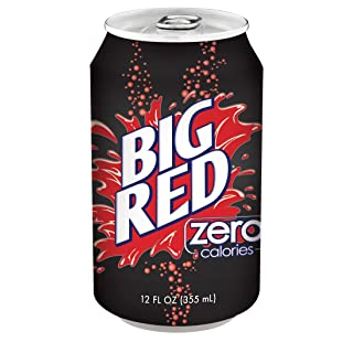 Big Red Zero, 12 Ounce (Pack of 24)