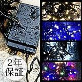 【 2年保証 】【 日本市場向け 】 イルミネーション LED 100球 防水仕様 クリスマスライト 連結不可 点灯記憶機能付き 設置場所を選ばない USB電源 (シャンパンゴールド)