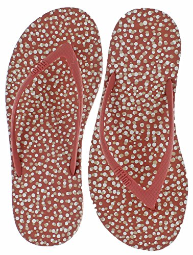 FitFlop Mujer dorado iQushion Ergonomic Chanclas Rosy Bubbles