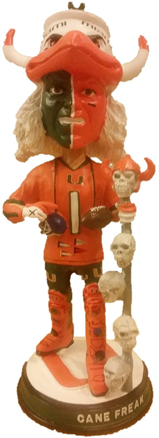 Canefreak Cane Freak Miami Super Fan Limited Edition Bobblehead - Hurricanes - Individually Numbered to Only 500