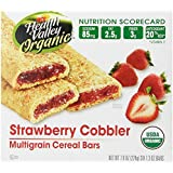 Health Valley Cobbler Cereal Bars, Strawberry, 7.9 oz