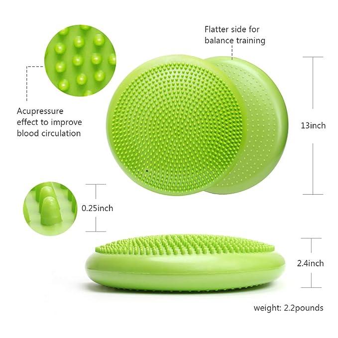 Amazon.com: WIWAPLE Wiggle - Asiento hinchable con balancín ...
