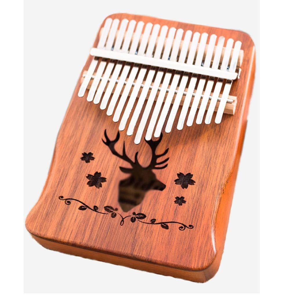 17 Key Kalimba Marimba Thumb Finger Piano Sanza Mbira African Musical Instrument Birthday Gift Marimbas (Size : B) by ZJY