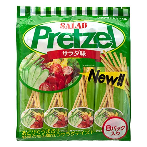 Golden Fuji, Pretzel Stick, Salad Flavour, net weight 128 g (Pack of 2 pieces)