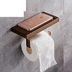 Amazon.com: space aluminum Towel rack/Toilet paper shelf
